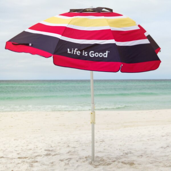Life Is Good 7' Beach Umbrella By Life Is Good