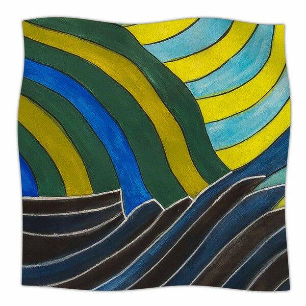 Desert Waves by NL Designs Fleece Blanket by East Urban Home
