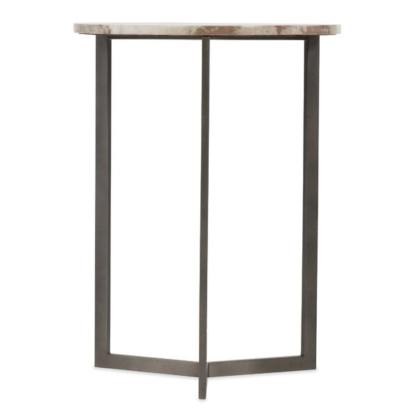 Vellum End Table by Hooker Furniture