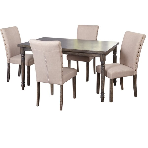 Damon Parsons 5 Piece Dining Set by Ophelia & Co. Ophelia & Co.