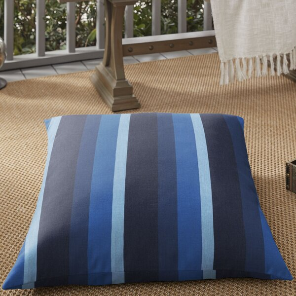 Pamela Indoor/Outdoor Floor Pillow by Breakwater Bay
