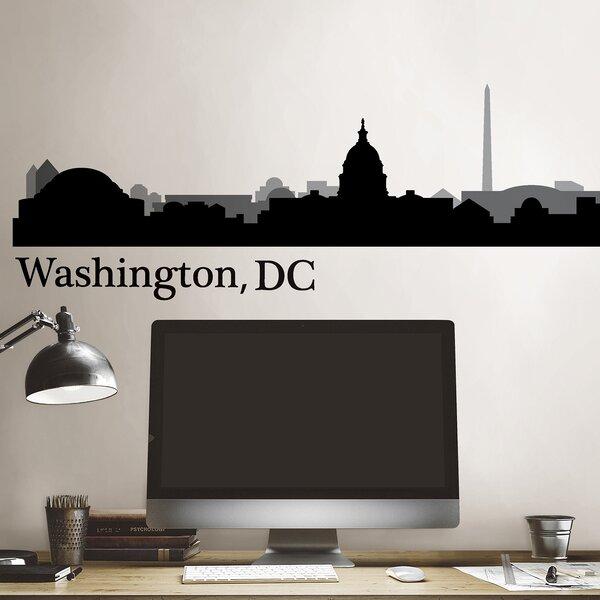 Washington Dc Cityscape Wall Decal