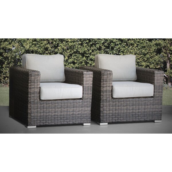 Granillo Patio Chair with Cushions by Orren Ellis