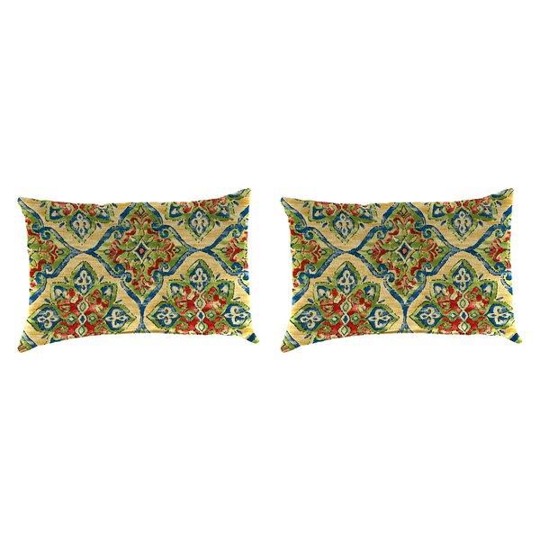 Willman Accessory Toss Indoor/Outdoor Lumbar Pillow (Set of 2) by Winston Porter