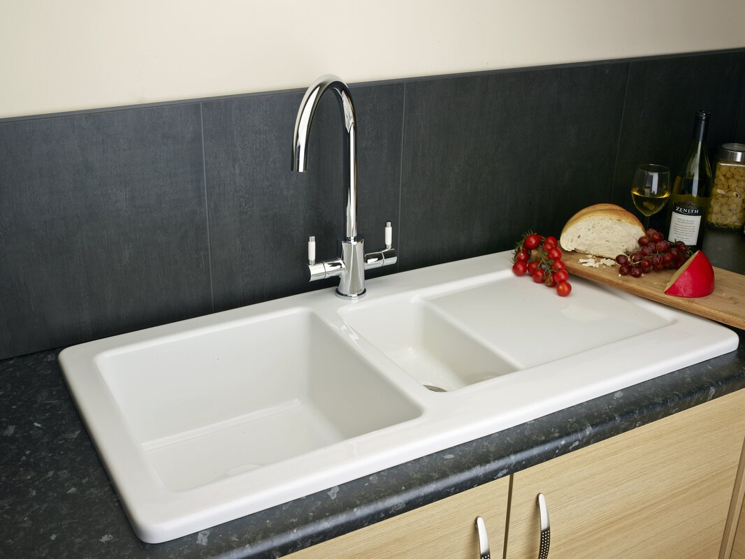 Inset Kitchen Sinks Reginox 100cm x 50cm inset kitchen sink with waste outlet reviews 100cm x 50cm inset kitchen sink with waste outlet workwithnaturefo