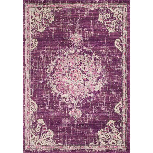 Ernst Purple/Pink Area Rug by Bungalow Rose