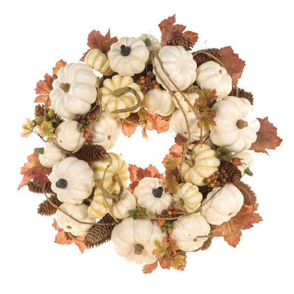 Pumpkin Wreath by Fantastic Craft