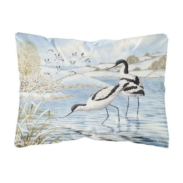 Shufelt Avocet Fabric Indoor/Outdoor Throw Pillow by Winston Porter