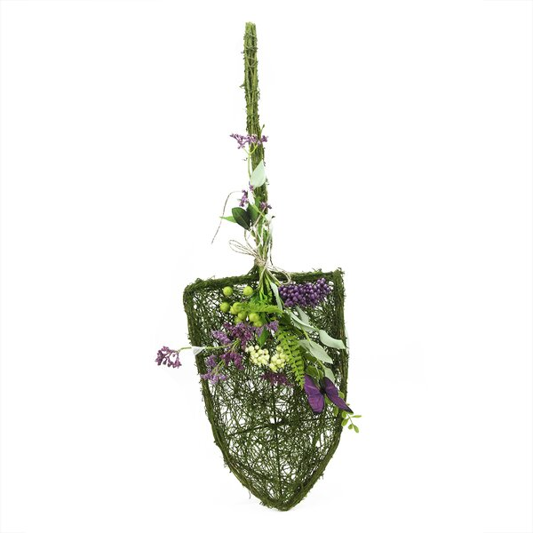 Decorative Mixed Berry and Butterfly Artificial Floral Shovel Accent by Northlight Seasonal