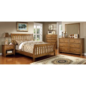 Botellier Sleigh Configurable Bedroom Set by Hokku Designs
