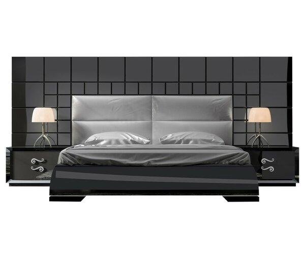 Berkley Panel 4 Piece Bedroom Set by Orren Ellis