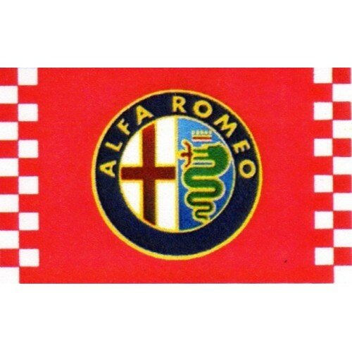 Alfa Romeo Polyester 3 x 5 ft. Flag by NeoPlex