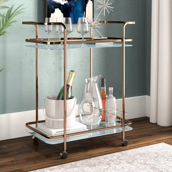 Laoise Bar Cart by Willa Arlo Interiors Willa Arlo Interiors