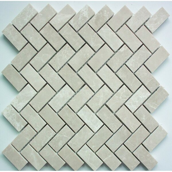 1 x 2 Mosaic Tile in Botticino by Ephesus Stones