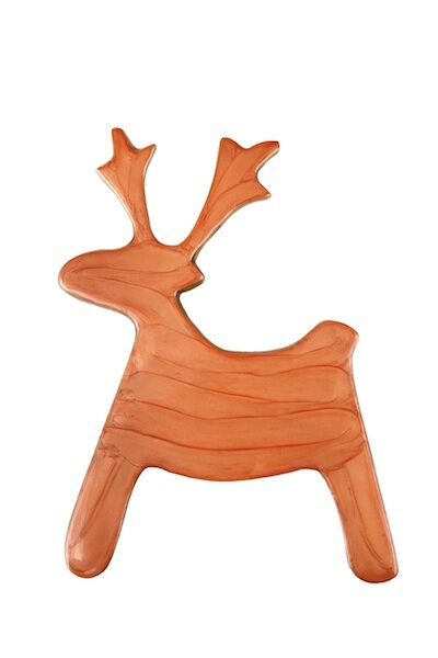 Bouille Deer Aluminum Trivet (Set of 2) by Loon Peak