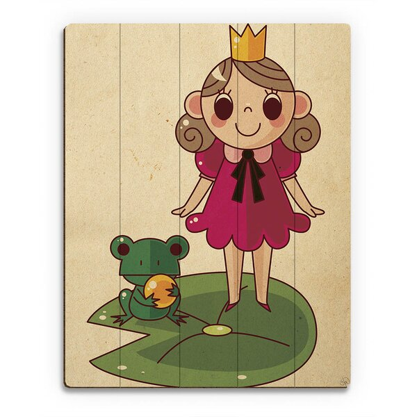 Princess and the Frog Graphic Art on Plaque by Click Wall Art