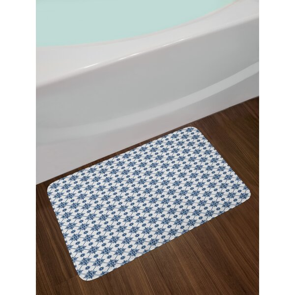 Blooming Floral Dutch Bath Rug by East Urban Home