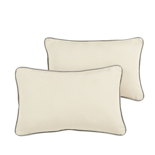 Rosewood Indoor/ Outdoor Throw Pillow (Set of 2) by Bay Isle Home