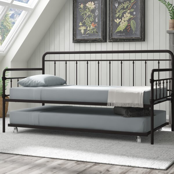 Truxton Twin Daybed With Trundle by Gracie Oaks