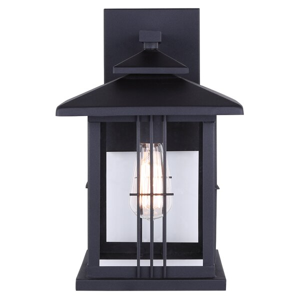 McLean 1-Light Outdoor Wall Lantern by Alcott Hill