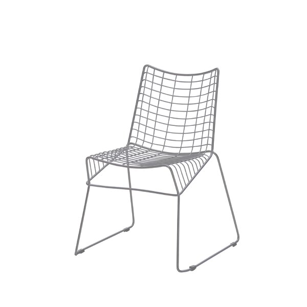 Gower Style Stacking Patio Dining Chair by Wrought Studio