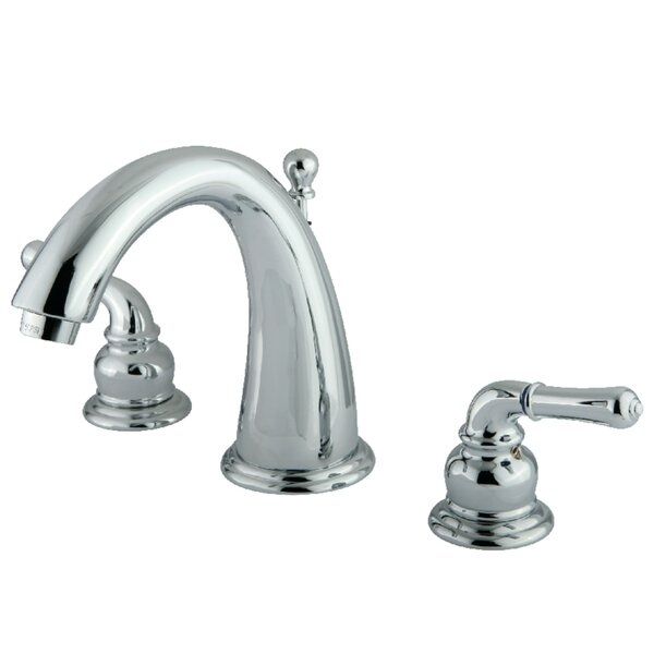 Widespread Bathroom Faucet with Drain Assembly