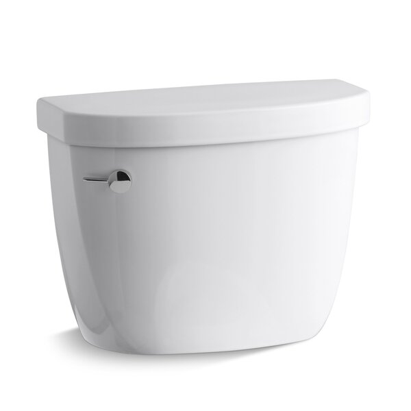 Cimarron 1.28 GPF High Efficiency Toilet Tank with Aquapiston® Flush Technology by Kohler
