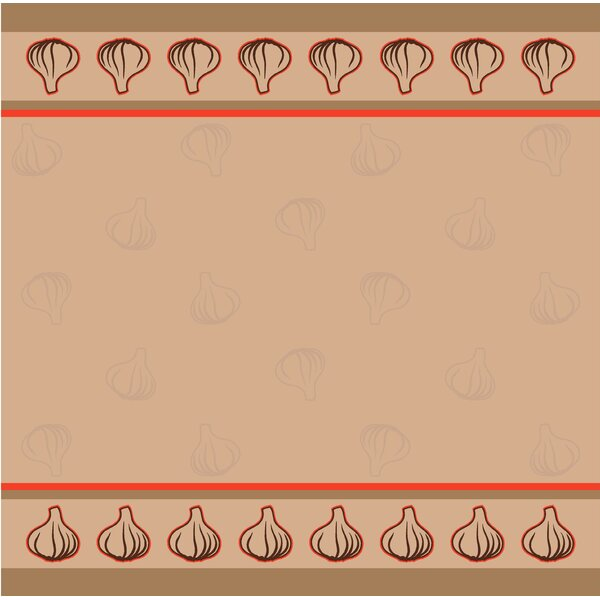 Garlic Tea Towel (Set of 2) by Mierco