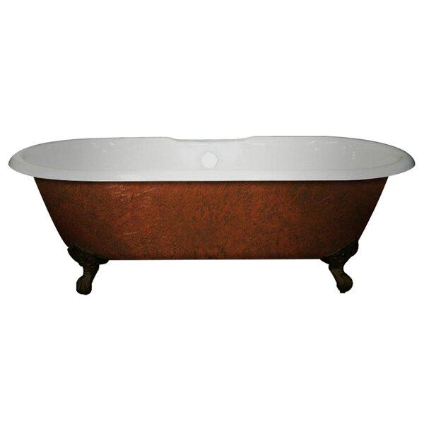 Cast Iron Clawfoot 60 x 30 Freestanding Soaking Bathtub by Cambridge Plumbing