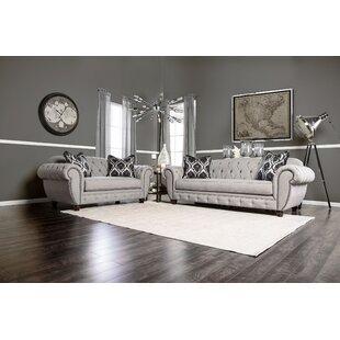 Monticello 2-pcs Living Room Set by Andrew Home Studio