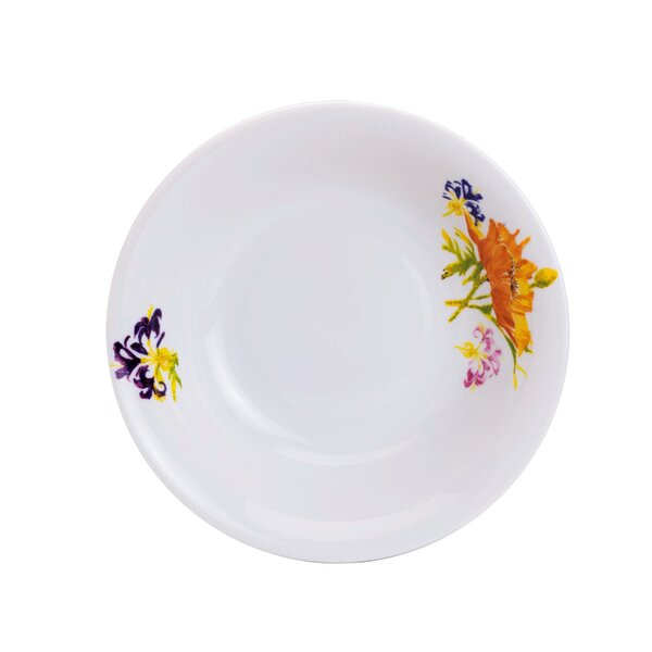 Tiger Lilly Salad Bowl by Euro Ceramica
