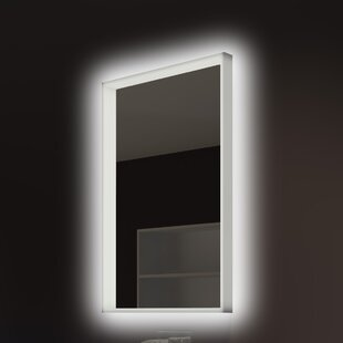 Affordable Price Acrylic Illuminated Bathroom/Vanity Wall Mirror By Paris Mirror