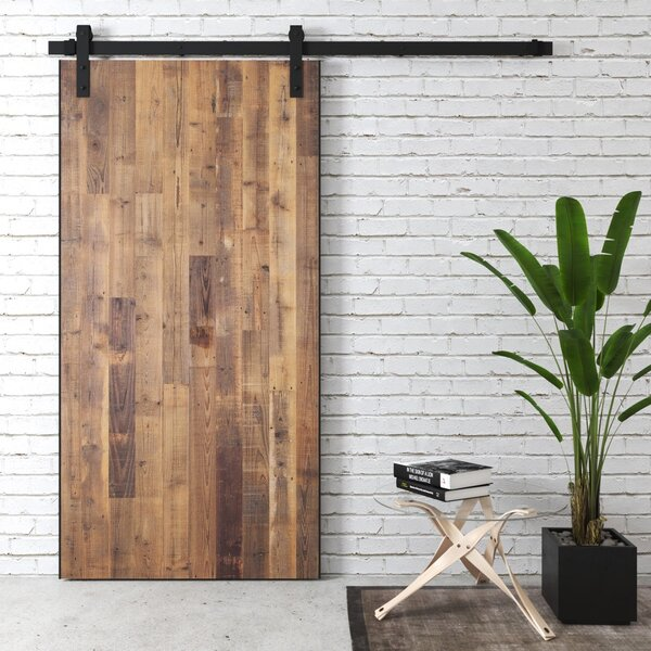 Alter Reclaimed Solid Wood Interior Barn Door by Foundry Select