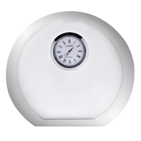 Vision Round Desk Clock by Orrefors