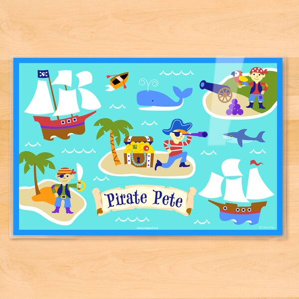 Pirates Personalized Placemat by Olive Kids