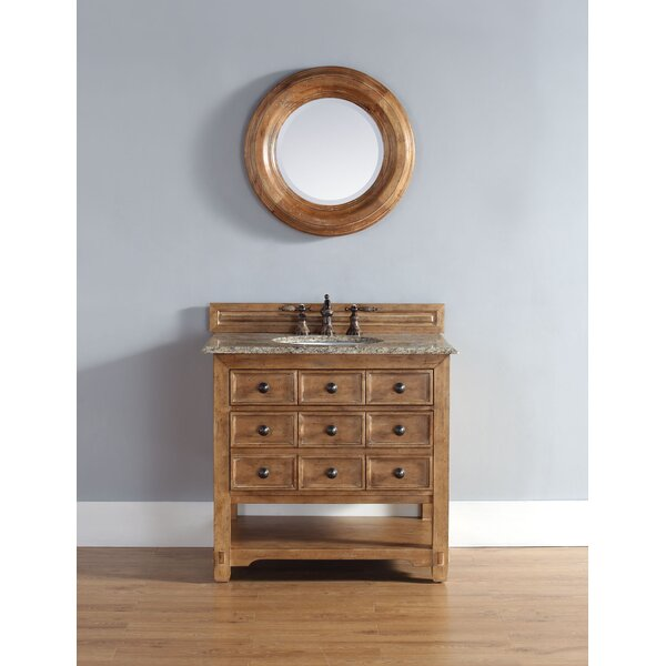 Montebello 36 Single Honey Alder Vanity Bathroom Vanity Set by Bloomsbury Market
