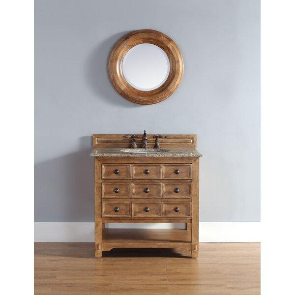 Montebello 36 Single Honey Alder Vanity Bathroom Vanity Set by Bloomsbury Market