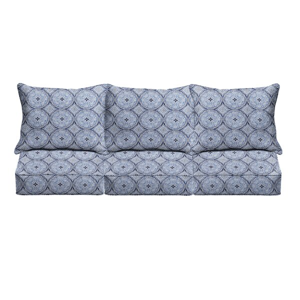 6 Piece Corded Indoor/Outdoor Sofa Cushion Set By Canora Grey