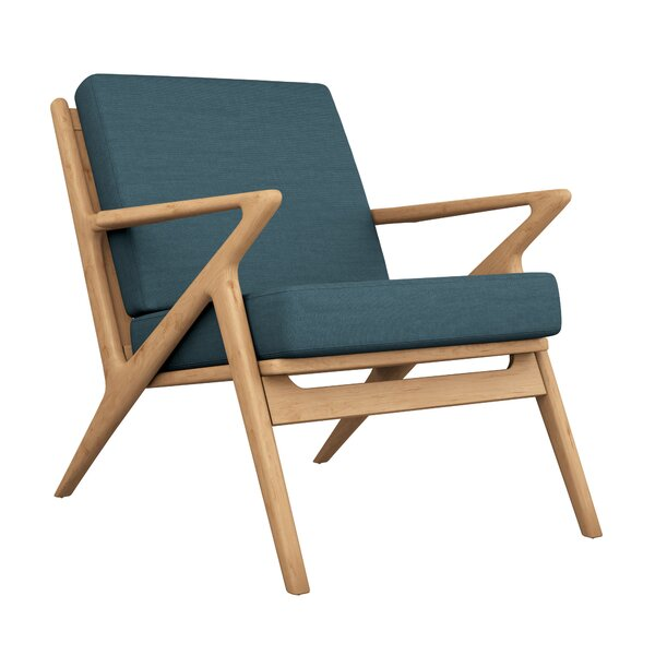 Buffington Oxford Weave Lounge Chair by Corrigan Studio Corrigan Studio
