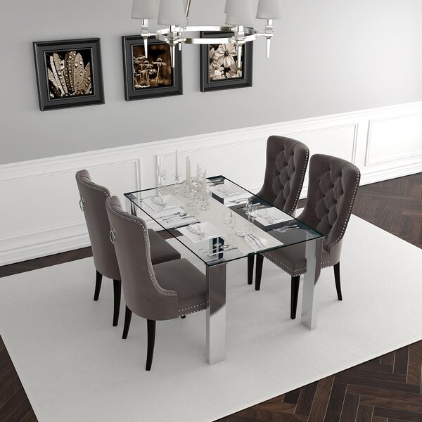 Ramlochan 5 Piece Dining Set By Wrought Studio