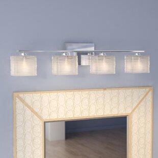 Look for Denebola 4-Light Vanity Light By Latitude Run