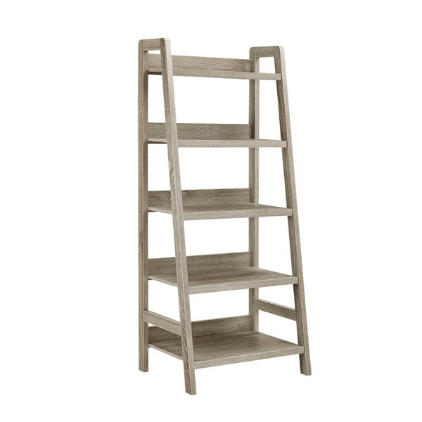 Hindman Wooden Ladder Bookcase By Gracie Oaks