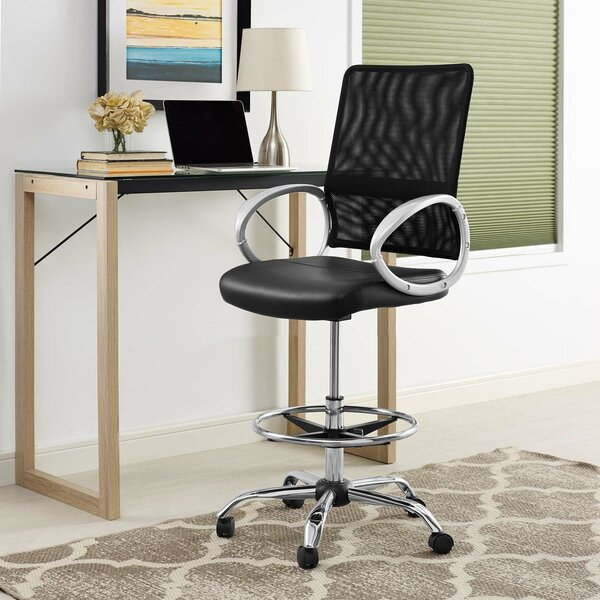 Hamler Ergonomic Mesh Drafting Chair by Orren Ellis