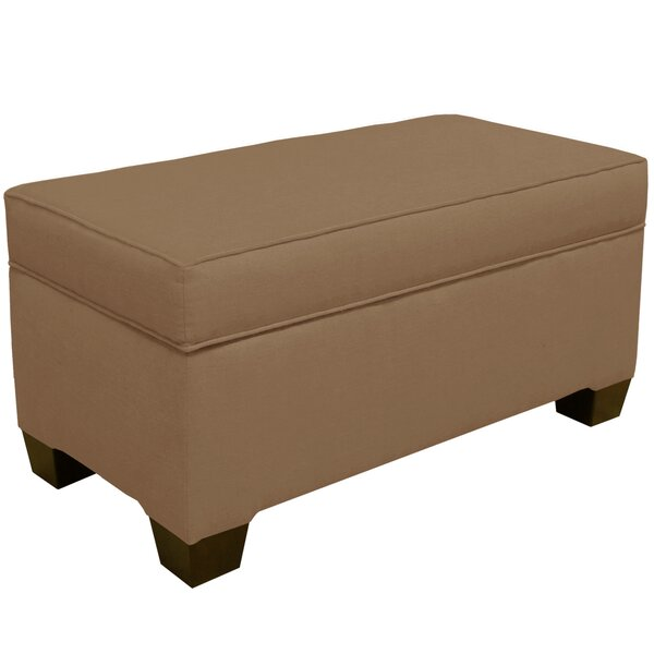 Linney Upholstered Storage Bench by Latitude Run