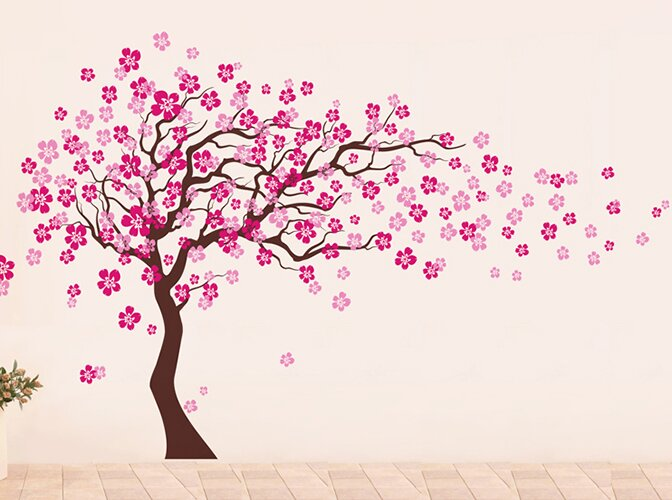 Delicieux Cherry Blossom Tree Wall Decal