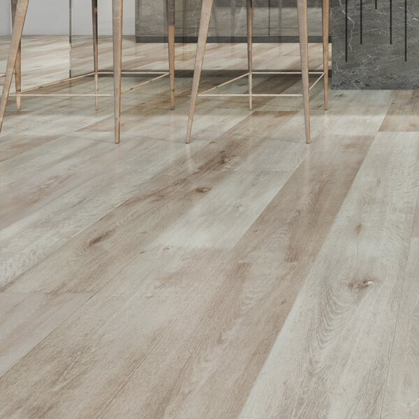 Novus 6.5 x 48 x 12mm Oak Laminate Flooring in Rich Tuscan by Montserrat