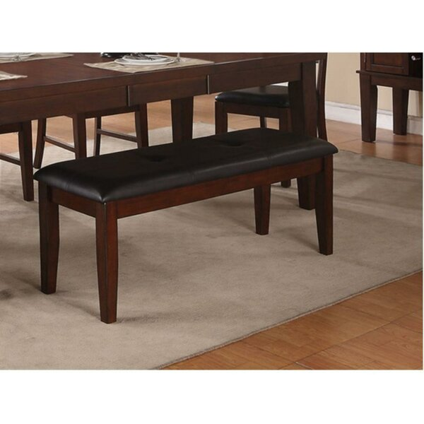 Vernice Wood Bench by Millwood Pines