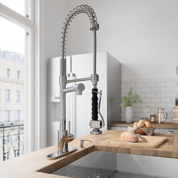 Zurich Pull Down Single Handle Kitchen Faucet by VIGO