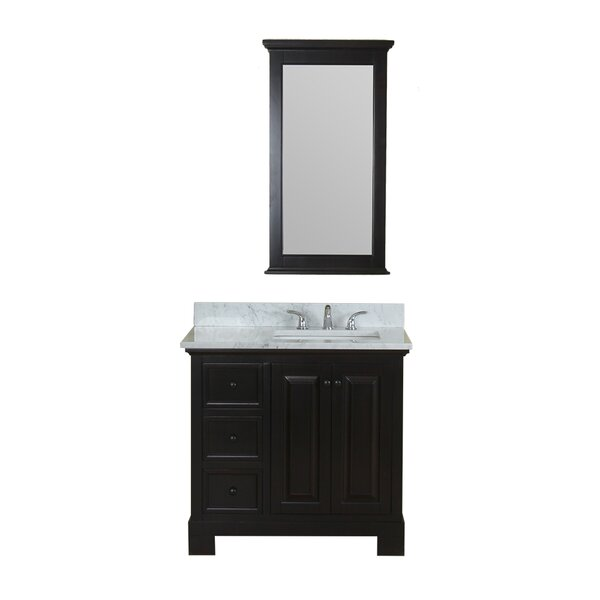 Cothern 36 Single Bathroom Vanity Set with Mirror by Red Barrel Studio