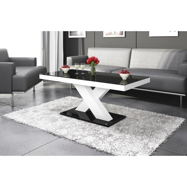 Ponderosa Pedestal Coffee Table By Orren Ellis